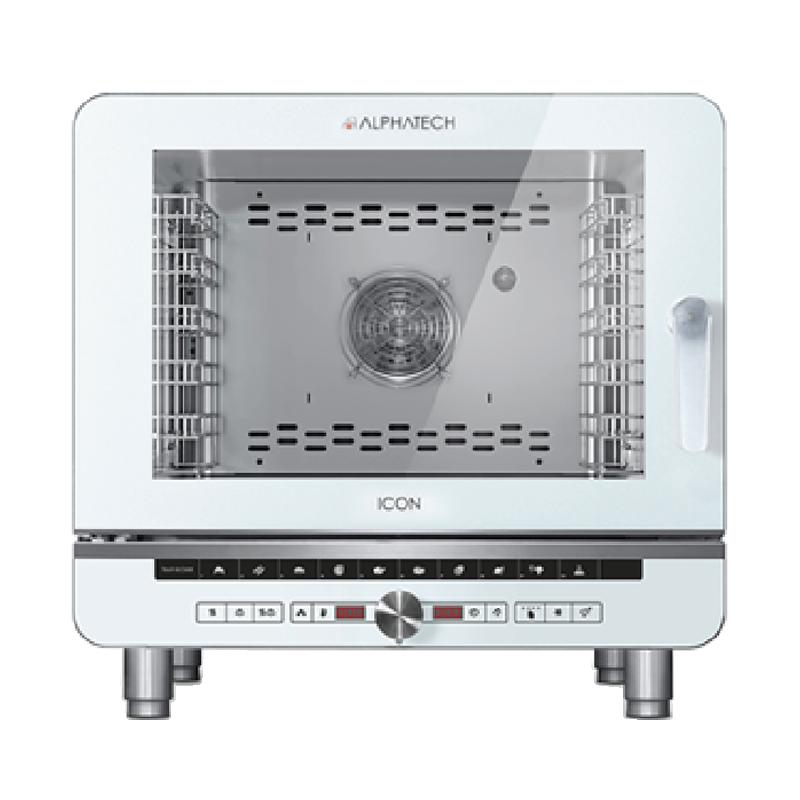 Lò hấp nướng 5 khay đa năng dùng điện Alphatech ICET051E