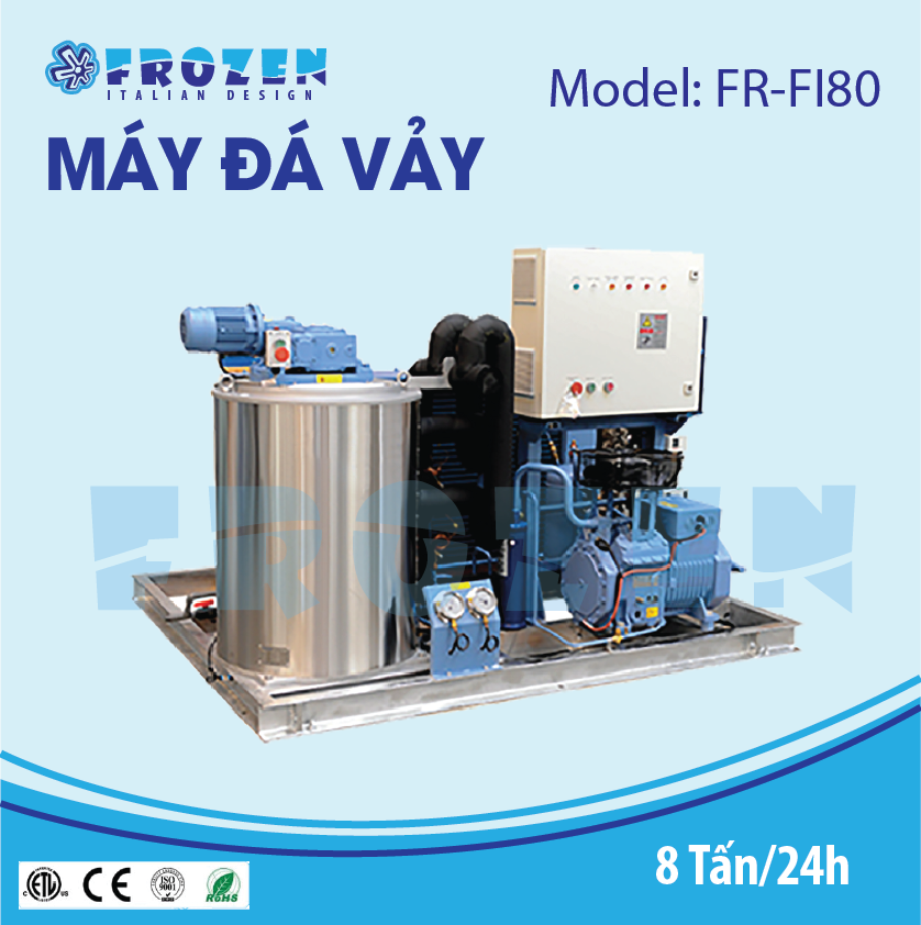 Máy làm đá vảy Frozen FR-FI80