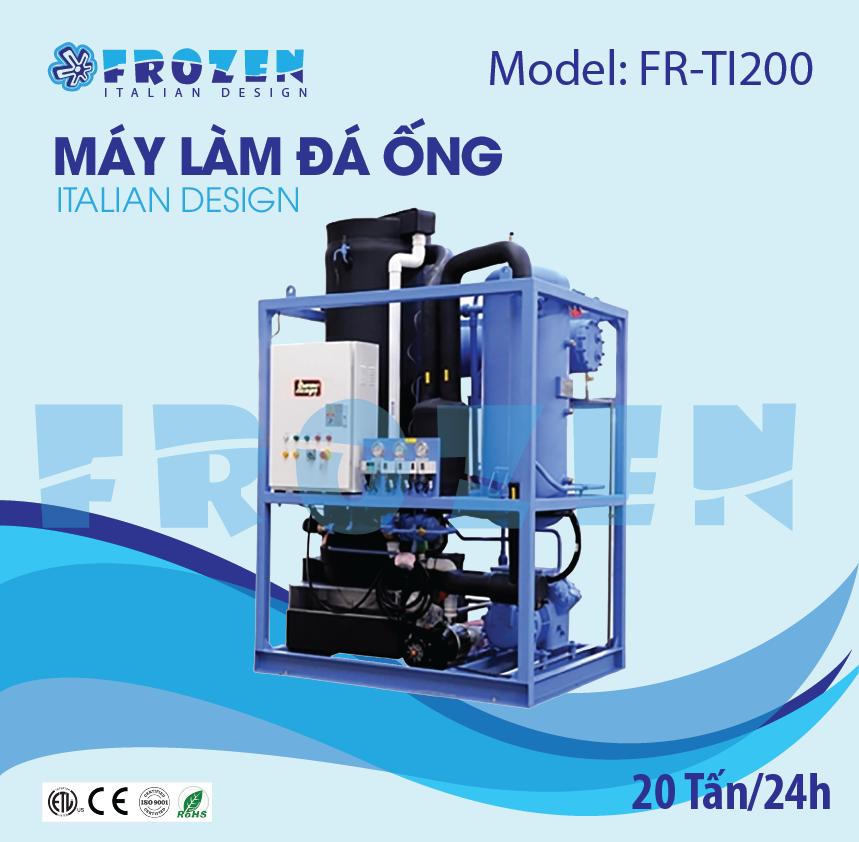 Máy làm đá ống thông minh Frozen FR-TI200