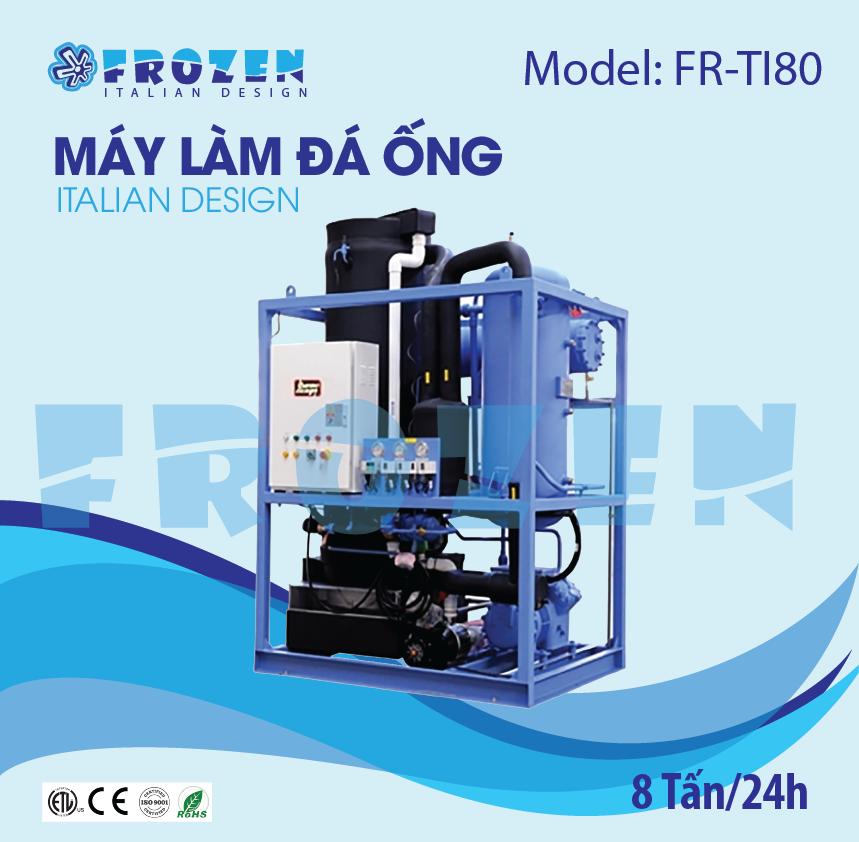 Máy làm đá ống Frozen FR-TI80