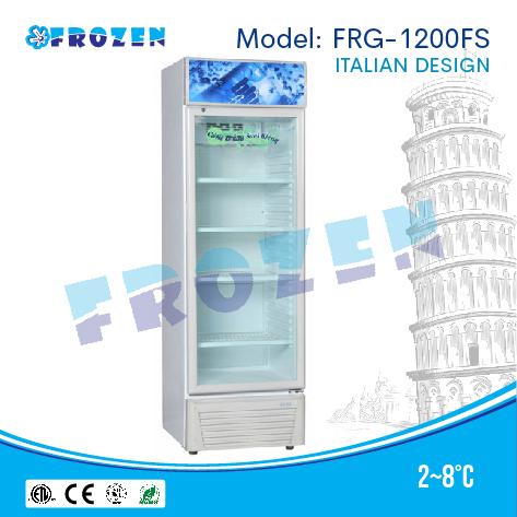 Tủ mát 1 cánh kính Frozen FRG-1200FS