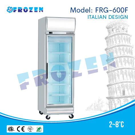 Tủ mát 1 cánh kính Frozen FRG-600F