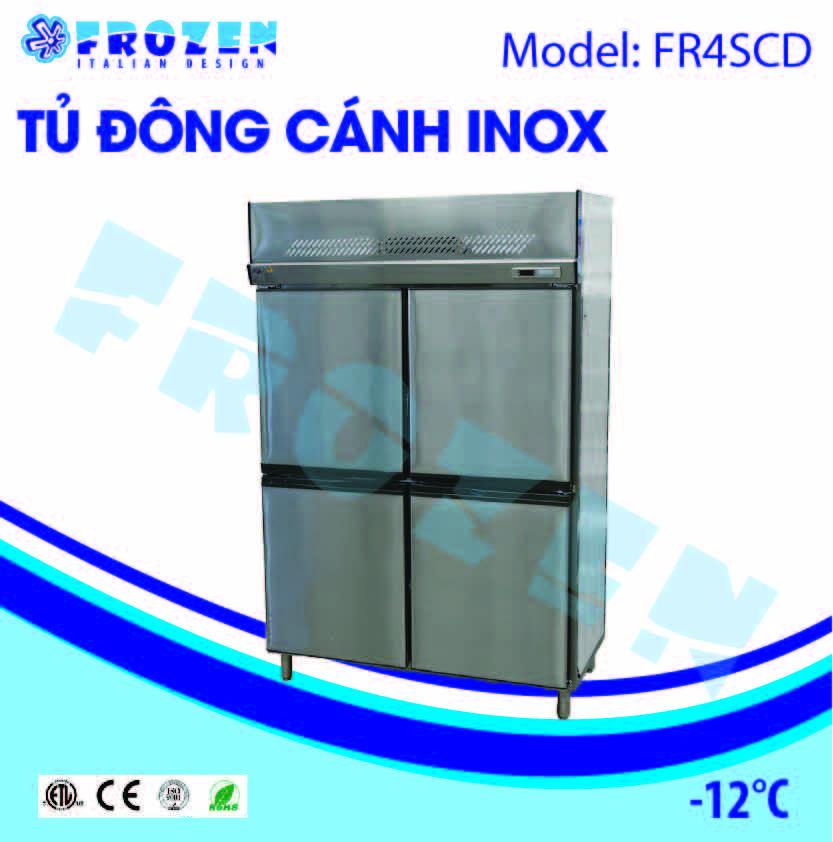 Tủ đông 2 cánh inox Frozen FR4SCD