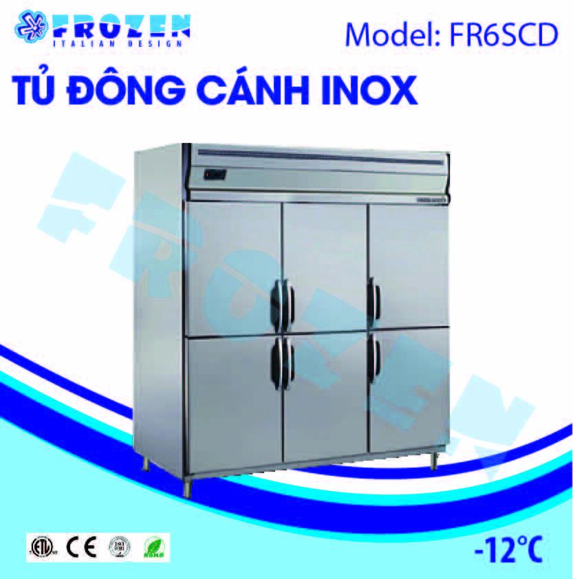 Tủ đông 3 cánh inox Frozen FR6SCD