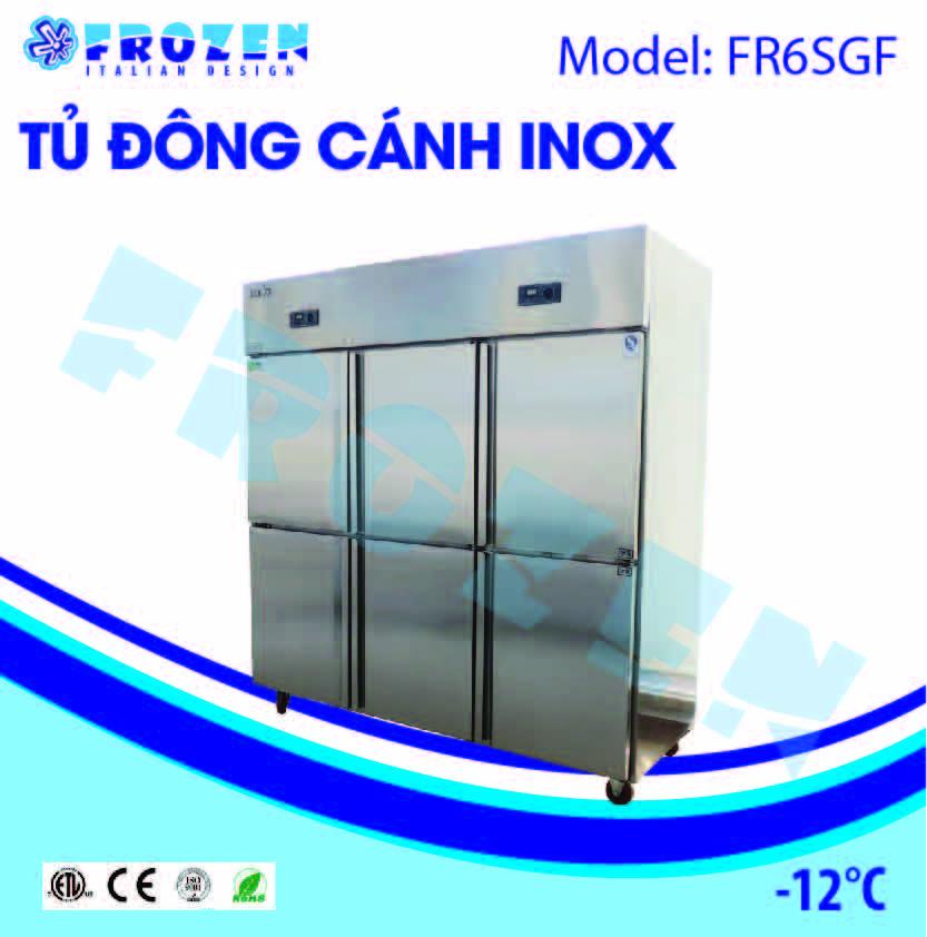 Tủ đông 3 cánh inox Frozen FR6SGF