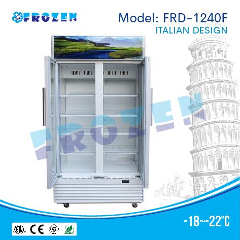 Tủ đông 2 cánh kính Frozen FRD-1240F