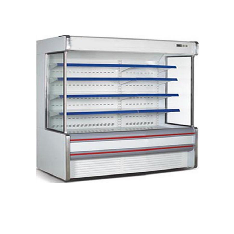 Tủ mát siêu thị dạng đứng (5 tầng, Lốc Trong) KUSAMI KS-2000F