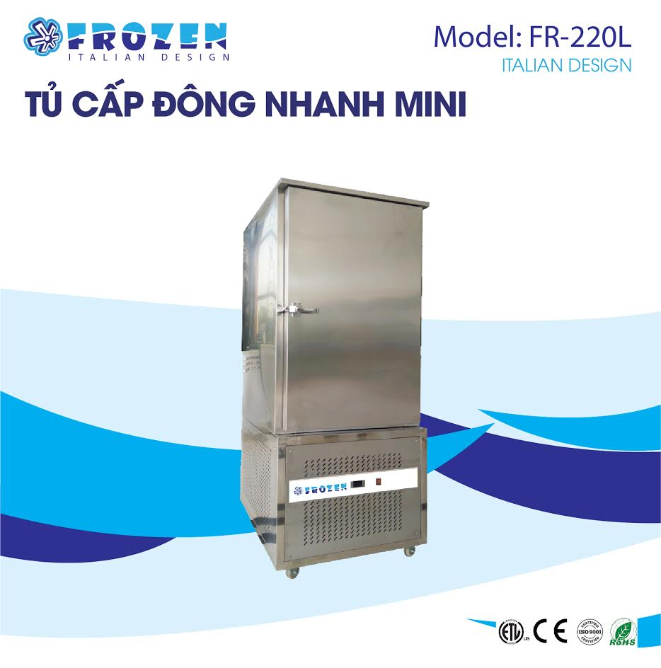 Tủ cấp đông nhanh hải sản Frozen FR-220L