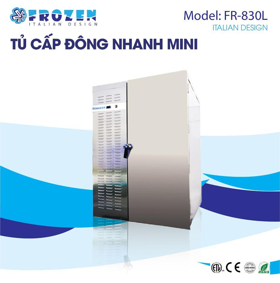 Tủ cấp đông nhanh thực phẩm Frozen FR-830L