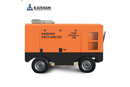 Máy nén khí di động kaishan KSCY-550/13D ảnh 1